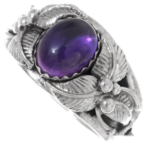 Native American Amethyst Ring 35958