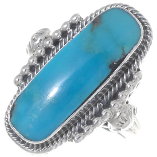 Kingman Turquoise Ring 35962