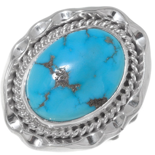 Kingman Turquoise Ladies Ring 35967