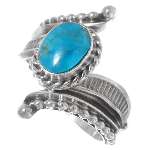 Sterling Silver Navajo Turquoise Rings 38035
