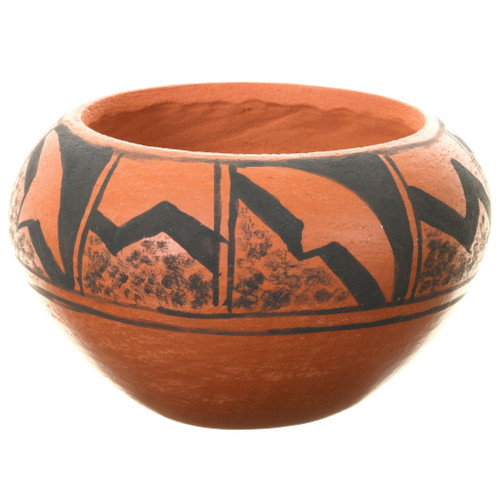 Small Hopi Tewa Hand Coiled Pottery 39111
