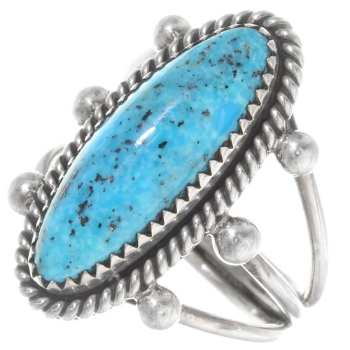 Native American Turquoise Ladies Ring 39118