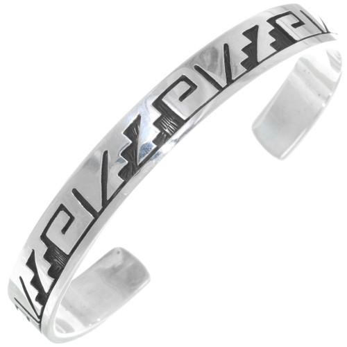 Silver Cuff Handmade Bracelet 39132