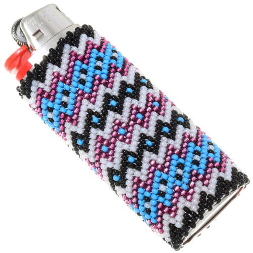 Native American Beaded Lighter Case Cover 39135