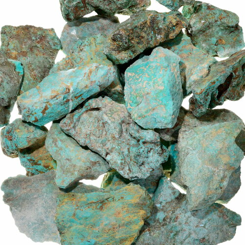 Extra Large Turquoise Rough 37002