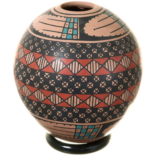 Small Mata Ortiz Eye Dazzler Pottery 39189