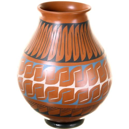 Mata Ortiz Polychrome Olla Pottery 39190