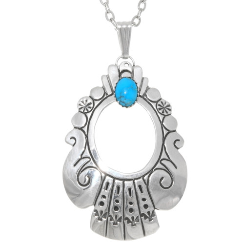 Native American Turquoise Pendant 39210