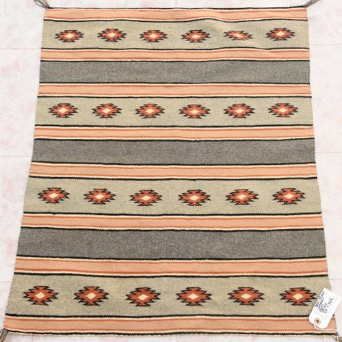 Vintage 1960s Navajo Chinle Wool Rug 39268
