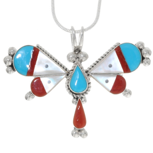 Native American Dragonfly Pendant 39317