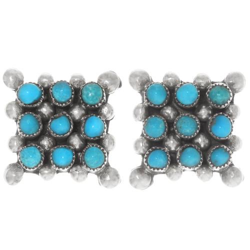 Sleeping Beauty Turquoise Earrings 39500