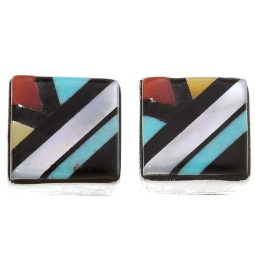 Inlaid Native American Earrings 39503