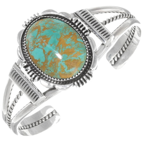 Native American Turquoise Cuff Bracelet 39519