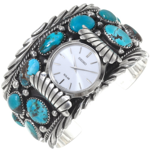 Bisbee Turquoise Watch Cuff 39563