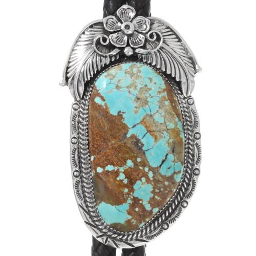Number 8 Turquoise Bolo Tie 25484