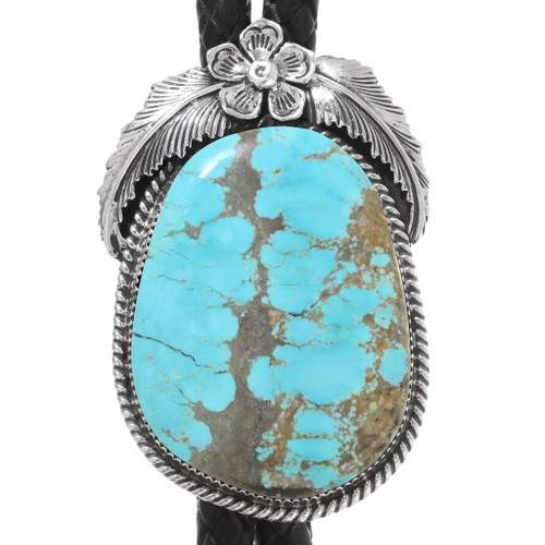 Number 8 Turquoise Bolo Tie 39586
