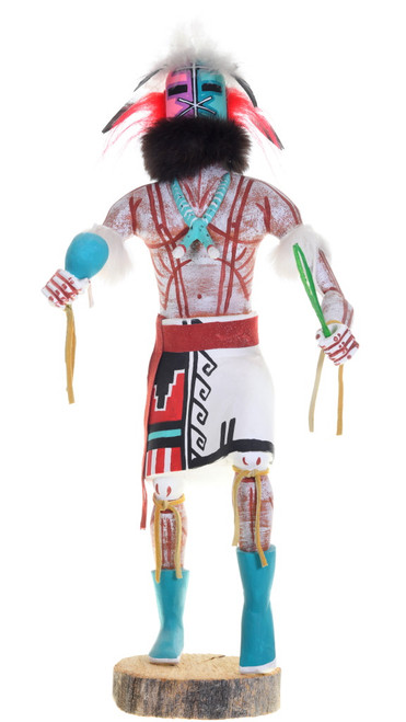 Large Vintage Hopi Rattle Kachina Doll 39589