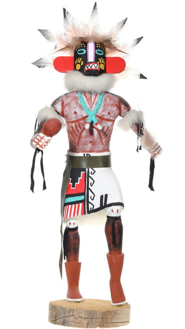 Large Native American Badger Kachina Doll 39591