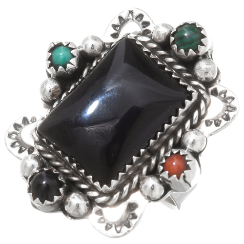 Vintage Native American Ladies Ring 39637