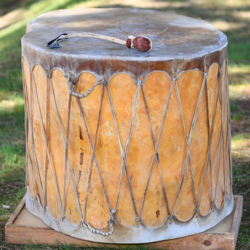 Huge Vintage Pueblo Indian Drum 39265