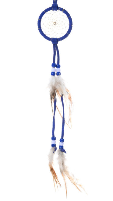 Dark Blue Native American Dreamcatcher 39685