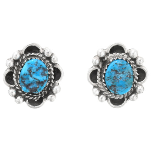 Arizona Turquoise Navajo Earrings 39818