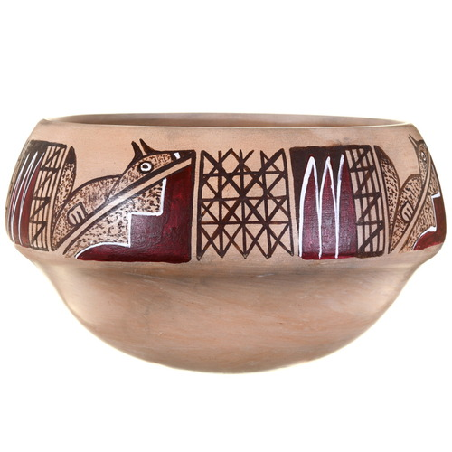 Vintage Hopi Pottery Bowl 39861