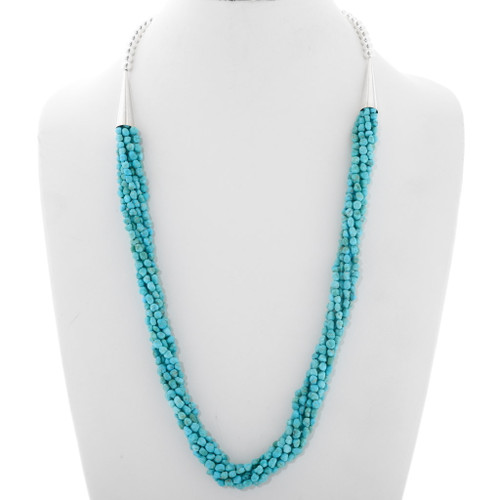 Natural Sleeping Beauty Turquoise Necklace 39898