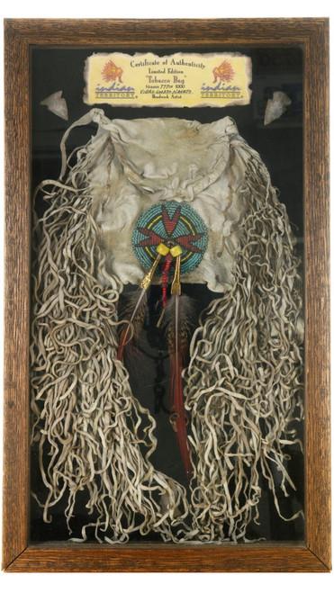 Framed Navajo Tobacco Bag 39904