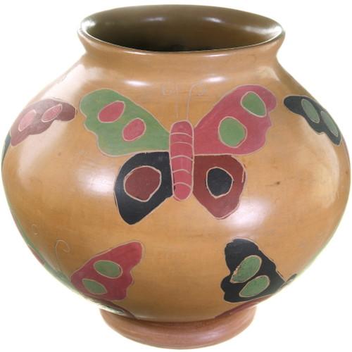 Mata Ortiz Butterfly Pottery 39908