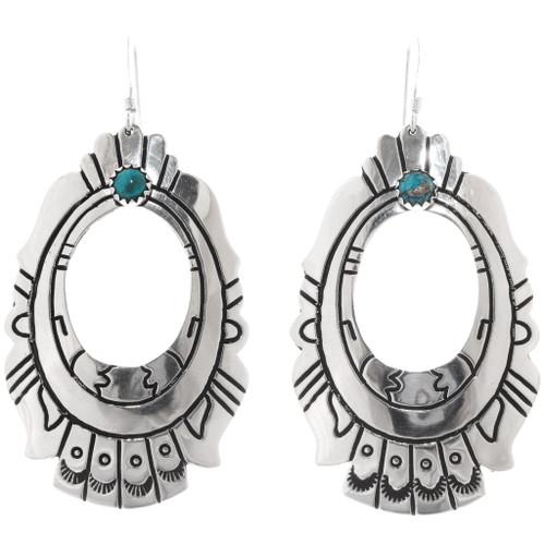 Turquoise Silver Earrings 30210