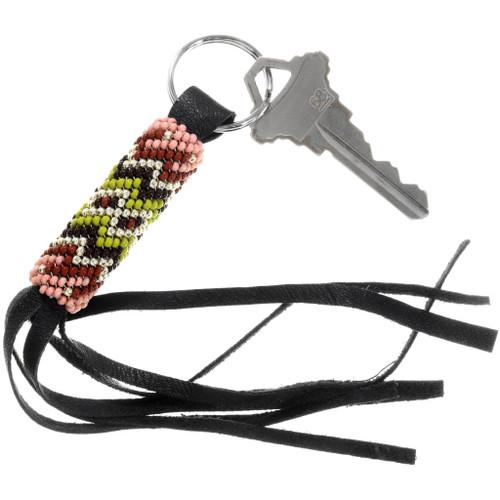 Native American Southwest Beaded Key Ring 39987