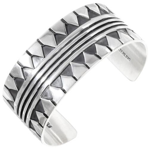 Native American Sterling Silver Cuff Bracelet 40035