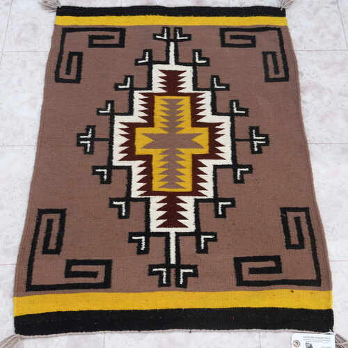 Vintage Navajo Wool Rug