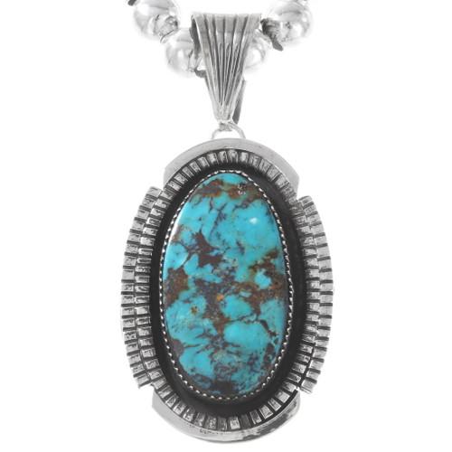 Native American Turquoise Pendant 40324