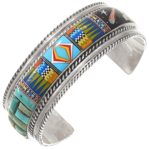 Colorful Micro Inlay Bracelet 40363
