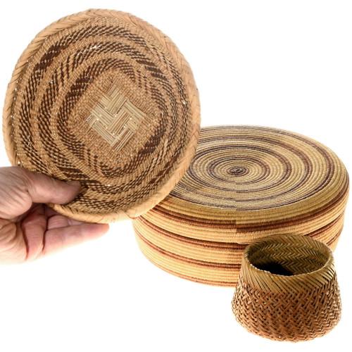 Vintage Handwoven Baskets 40407