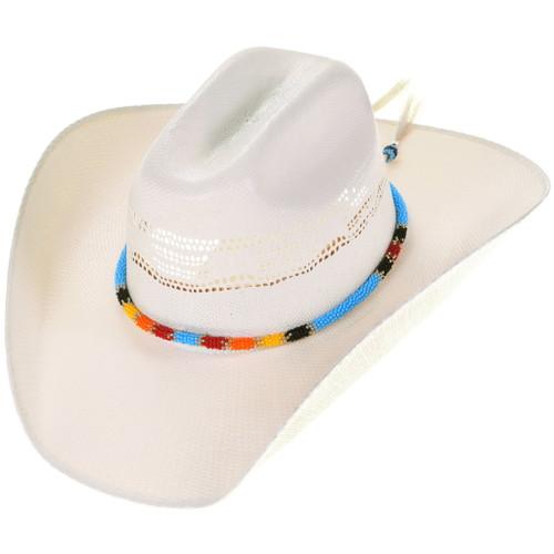 Native American Beaded Hatband 40440