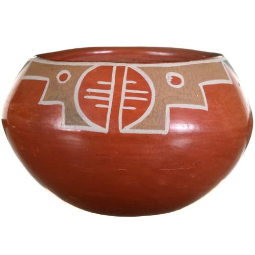 Vintage 1940s Santa Clara Polychrome Pottery 40470
