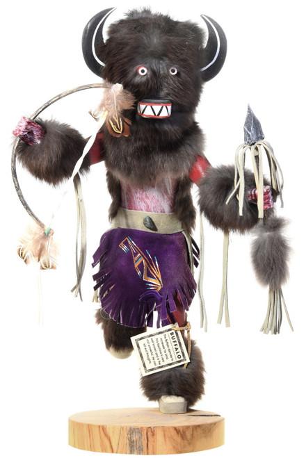 Large Black Buffalo Kachina Doll 40502