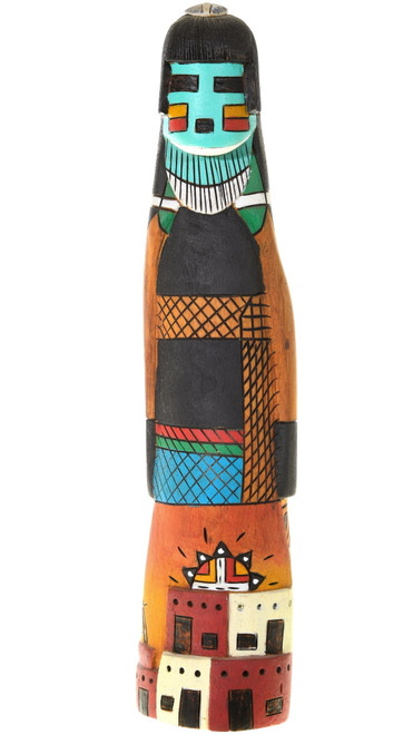 Vintage Hopi Hano Mana Kachina Doll 40536