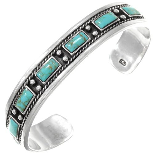 Vintage Turquoise Cuff Bracelet 40557