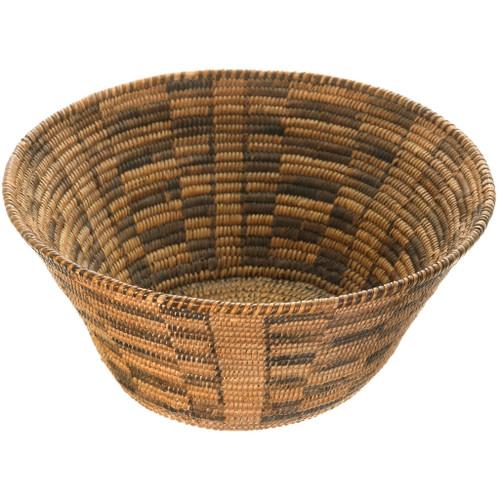 Antique Pima Indian Basket Bowl 40582