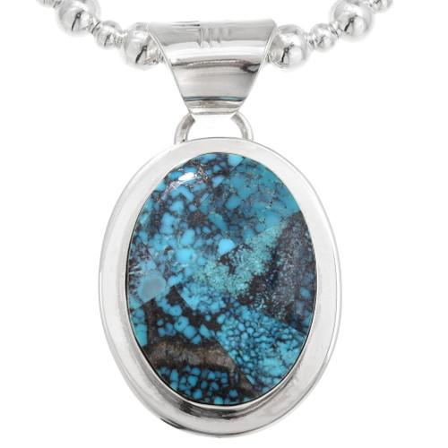 Navajo Mosaic Turquoise Pendant 40590