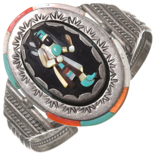 Old Pawn Zuni Kachina Bracelet 40618