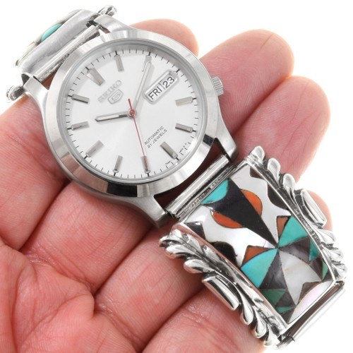 Sterling Silver Native American Watch 40624