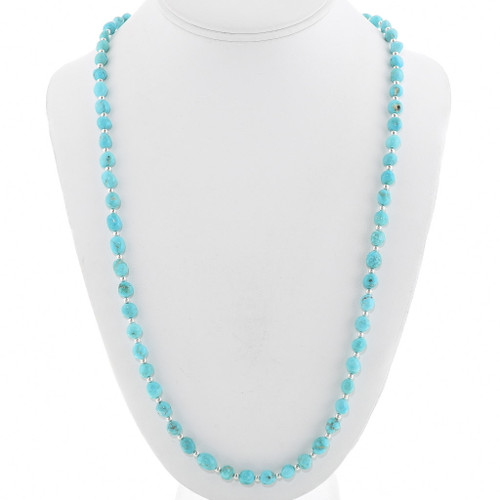 Natural Sleeping Beauty Turquoise Necklace 40627