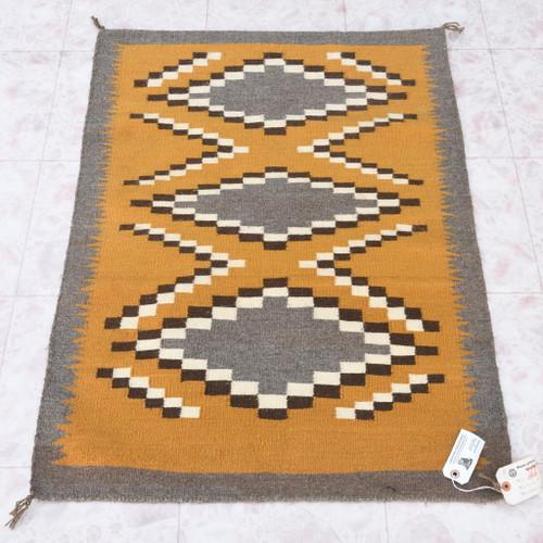 Vintage 1960s Navajo Rug 40638