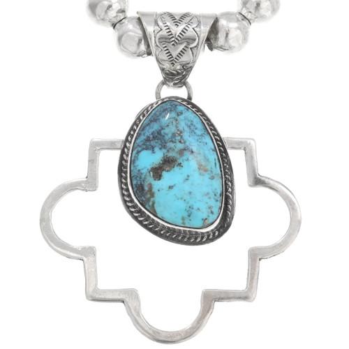 Native American Turquoise Pendant 40649