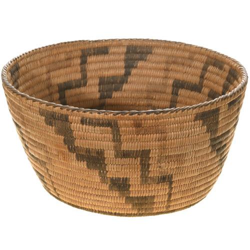 Vintage Indian Basket Bowl 40688